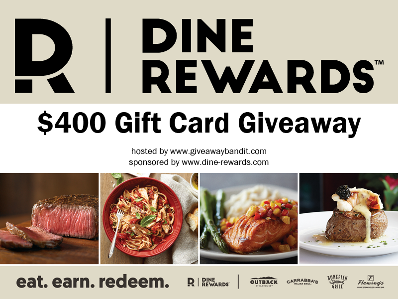 Dine Rewards Sweetens The Meal With A Chance To Dine Free