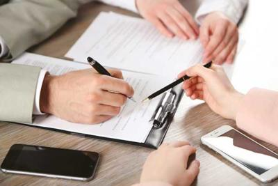Signing a guaranty