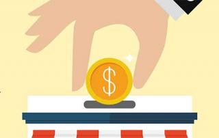 putting money into usiness
