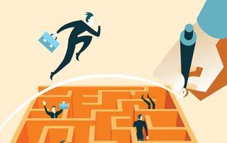Business Maze graphic